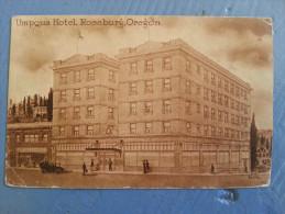 CP Carte Postale Postcard USA Umpqua Hotel Roseburg Orégon (3) - Etats-Unis