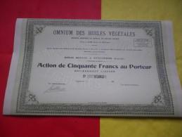 OMNIUM DES HUILES VEGETALES (eyguieres-bouches Du Rhone) - Shareholdings