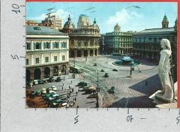 CARTOLINA VG ITALIA - GENOVA - Piazza De Ferrari - 10 X 15 - ANNULLO 1965 - Genova