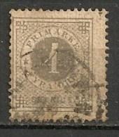 Timbres - Suède - 1872 -  4 Ore - - Oblitérés