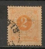 Timbres - Suède - 1886/91 -  2 O. - - Suède