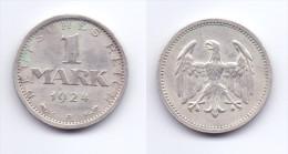 Germany 1 Mark 1924 A - [ 3] 1918-1933 : Weimar Republic