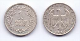 Germany 1 Reichsmark 1926 A - [ 3] 1918-1933 : Weimar Republic