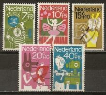 Pays-Bas Netherlands 1964 Activities Enfants Children Set Complete Obl - Periodo 1949 – 1980 (Juliana)