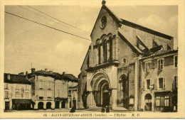 SAINT-SEVER (40) - L'église - Saint Sever