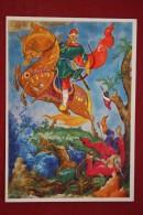 """ILIA MUROMETS Fairy Tale"" - OLD USSR Postcard -1968 - ARCHERY - Archer - Tir à L'Arc"