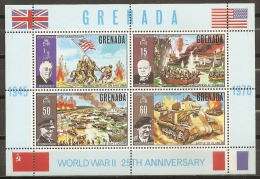HISTORIA - GRENADA 1970 - Yvert #H7 ** - Precio Cat. €10 - WW2 (II Guerra Mundial)