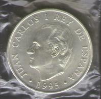 SPAGNA 2000 PESETAS 1995 AG SILVER - [ 5] 1949-… : Regno