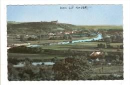 DUN SUR MEUSE - MEUSE - VUE GENERALE ET LA MEUSE CANALISEE - Dun Sur Meuse