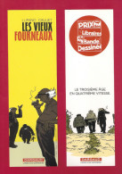 Marque Page. Bookmark. BD  Les Vieux Fourneaux.  Lupano-Cauuet.    Editions Dargaud - Bookmarks