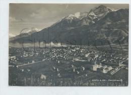 Aosta (Italie, Val D´aoste) : Panorama  En 1956 GF. - Aosta