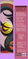 Marque-page °° Musée Départemental Matisse 2012 - Palais Fénelon Le Cateau-Cambrésis  5x20 - Segnalibri
