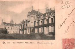 58 BEAUMONT LA FERRIERE CHATEAU DE LA FERRIERE - France