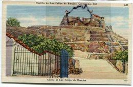 - C 11 - Colombie - Castillo De San Félipe De Barajas - Cartagéna - , Petit Format, Belles Couleurs, TTE, Scans.état. - Kolumbien