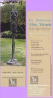 Marque-page °° Musée Matisse Donation Alice Tériade Le Cateau-Cambrésis  6x20 - Segnalibri