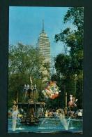 MEXICO  -  Mexico City  Alameda Central  Unused Postcard As Scan - Mexico