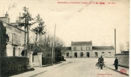 CPA 10 BRIENNE LE CHATEAU LA GARE  Hotel Hayard - France