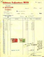 ANTWERPEN ANVERS Editions Enfantines BIAS / E. Batavier - Factures & Documents Commerciaux
