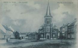 Herck La Ville   -    (La Place)   -    1908  Naar  Coq S/Mer - Herk-de-Stad