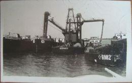 BRAILA Port 1939, Portul & Vapor BURDUJENI Ship, SPERANTA, Barca, Cu 4 Timbre - Roumanie
