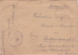 Feldpost WW2: 4. Schwadron Aufklarungs-Abteilung 68  FP 39270 P/m 4.2.1944 - Letter Inside (G73-60) - Militaria