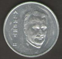 BELGIO 250 FRANCHI 1994 ALBERT II BE NE LUX  TREATY AG SILVER - 1993-...: Alberto II