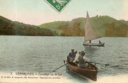 GERARDMER Canotage Sur Le Lac - Gerardmer