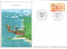 France  -  Hydravion  -  Cams 53  -  Enveloppe 1er Jour - FDC - Aerei