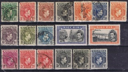 K 744 LOT NIGERIA BRITS   X + O TUSSEN NR 52 EN 62  ZIE SCAN - Collections (without Album)