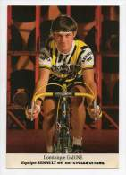Cyclisme - Dominique Gaigne - Renault Elf - Cyclisme