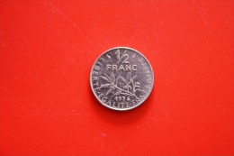 Piece 0.50 Centimes 1976 - France