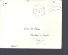 4 Enveloppes BPM , Franchise , AFN, Quartier Du Colombier, Le Vaguemestre Chef, REnnes, ... - Poststempel (Briefe)