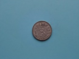1957 - 1 Gulden / KM 184 ( Uncleaned - For Grade, Please See Photo ) ! - [ 3] 1815-… : Kingdom Of The Netherlands