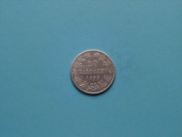 1859 R - 20 BAIOCCHI / KM 1360 ( Uncleaned - For Grade, Please See Photo ) ! - …-1861 : Avant Réunification