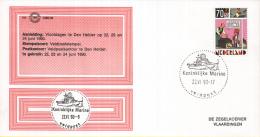 Nederland – Zegelkoerier Gelegenheidsstempels – Vlootdagen Den Helder - Veldpost - Koninklijke Marine - 1990 - Postal History