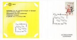 Nederland – Zegelkoerier Gelegenheidsstempels – 74e Wandelvierdaagse Nijmegen - KNBLO - 1990/40 - Poststempel