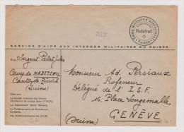 Heimat BE Madetswil Ca. 1940 Interniertenbrief > Genf - Schweiz