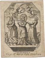 81.M. C.J. LEMMENS Echt. Van A.J.STIELS OUD BURGEMEESTER EN SCHEEPEN Der Stad BILSEN - Overleden 1826 - Imágenes Religiosas