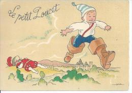 BARRE DAYEZ 1489 A - LE PETIT POUCET - Déssin: JACK - Autres Illustrateurs