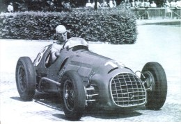 Grand Prix De Suisse 1950  -  Alberto Ascari  -  Ferrari 125 F1  -  Carte Postale - Grand Prix / F1