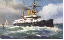 HMS  Majestic   -  Carte Postale - Paquebote