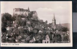 Marburg An Der Lahn - Teilansicht Mit Schloss - Marburg
