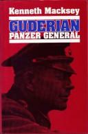 Guderian Panzer General   De Kenneth Macksey  Livre En Anglais - Autres
