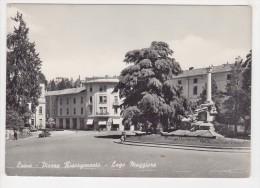 ^ LUINO PIAZZA RISORGIMENTO LAGO MAGGIORE VARESE PANORAMA A4 - Varese