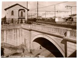 (630) Older Postcard -  Italy - Voghera (near Pavia) Train Station - Pavia