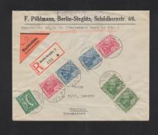 Dt. Reich Nachnahme Brief 1921 Germania ZD - Briefe U. Dokumente