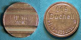 01756 GETTONE TOKEN JETON NETHERLAND AMUSEMENT SPORT MACHINE MMC DUCHELL - Zonder Classificatie
