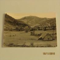 Carte Postale L´AUVERGNE : LE MONT DORÉ DOMINÉ PAR LA BANNE D´ORDANCHE - Auvergne