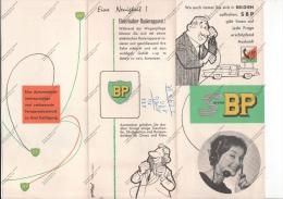 DEPLIANT SERVICE BP - IN TEDESCO - - Pubblicitari