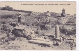 Alise-Ste-Reine - Les Fouilles De La Croix-Saint-Charles - Entrée D'un Temple - France